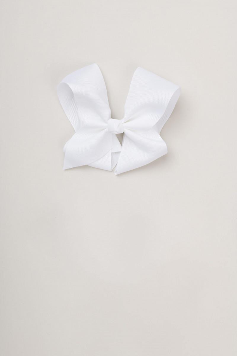 Head clip bow (white)